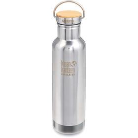 Klean Kanteen Reflect Vacuum Insulated Bidón Tapa Bambú 592ml, Plateado